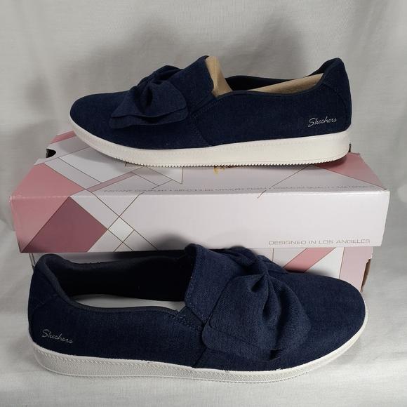 Skechers Shoes | Blue Slipon 9 Active